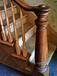 Newel Post To Handrail Fixing 26 Best Railing Spindles And Newel Posts For Stairs Images On