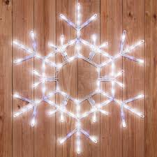 snowflakes 36 led folding twinkle snowflake decoration