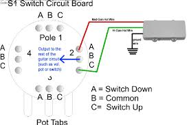 help trying to wire a novak jm 180 to fender s1 switch