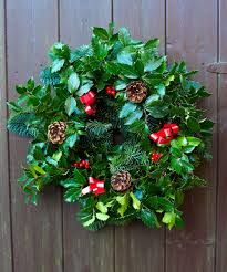 fresh wreaths product range lyonshall nurseries and