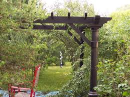 Metal Arches And Pergolas by Garden Captivating Accessories For Garden Landscaping Decoration