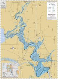 Wisconsin Lakes Map by 100 Wall Maps Nagawicka Lake Enhanced Wall Map China Great