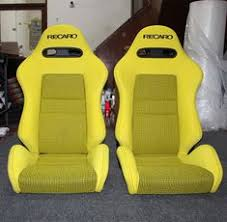 si e auto recaro 2 jdm recaro lx seats headrest leather racing porche eg ek