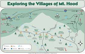 Highway Map Of Oregon by Directions To The Villages Of Mt Hood Oregon