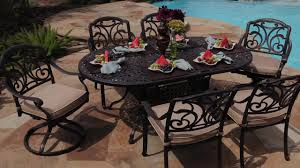 Patio Dining Set by San Paulo 7 Piece Patio Dining Set U0026raquo Foremost Veranda