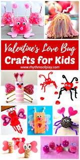 valentines love bug crafts for kids valentine crafts dollar