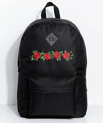 black roses empyre chrissy black roses backpack zumiez
