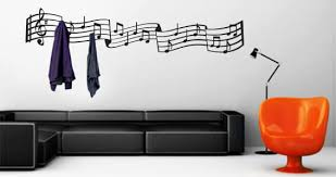 music notes coat rack decals dezign with a z