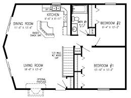 2 bedroom open floor plans prow front homes modular cedar ridge modular home floor plan