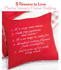 How To Make Your Bed Comfortable by Martha Stewart U0027s Reasons To Warm Up To Flannel Sheets Mblog