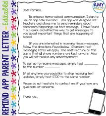 remind app parent letter editable letter templates parents