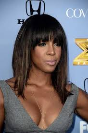 layered hairstyles with bangs for african americans that hairs thinning out 15 long bob hairstyles for black women hair pinterest longer