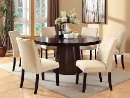 Acacia  Espresso Finish  PC Dining Set Floor Sample Caravana - Espresso dining room set