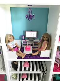 How To Make Homemade Dollhouse Furniture How To Make A Diy American Doll House Lillian Hope Designs