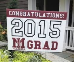 graduation sign graduation gift ideas mercer island high school ptsa