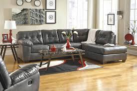 Grey Leather Tufted Sofa Tufted Sofa Charcoal Sofa Tufted Leather Sofa
