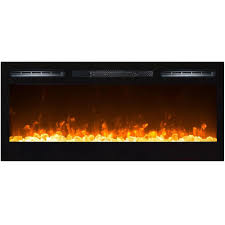 regal flame 36 inch lexington crystal built in recessed wall