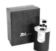 jetline g5000 triple table lighter jetline g5000 triple torch table cigar lighter silver black ebay
