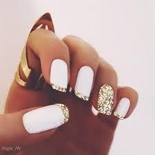 60 pretty matte nail designs gold glitter gold and matte nails