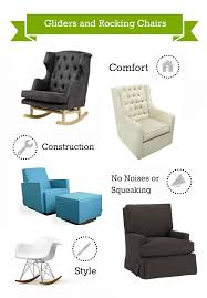 nursery furniture rocking chairs what to look for in a glider or rocking chair and more nursery