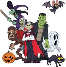animated halloween clipart halloween monsters u2013 festival collections