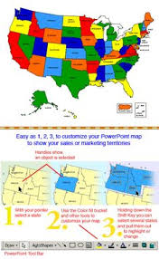 usa map editable powerpoint template this deck of 61 editable