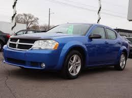 2008 blue dodge avenger dodge avenger sxt michigan 12 blue dodge avenger sxt used cars