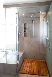 Bathroom Designs With Walk In Shower by Timber Shower Floor Definitely A Consideration For The Bathroom