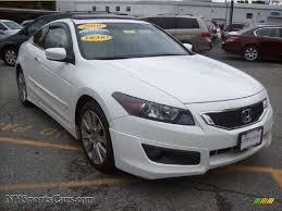 2010 honda accord ex l v6 coupe in taffeta white 007827