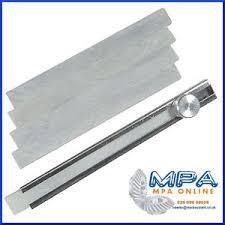 Soapstone Chalk Flat Soapstone French Chalk Holder With 5 Sticks Of Chalk Metal