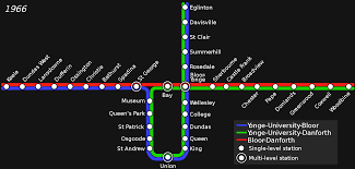 Ttc Subway Map by File Ttcsubwayinterlined1966 Svg Wikimedia Commons
