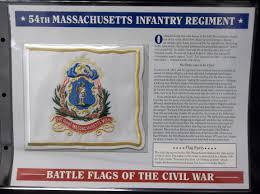 Mass State Flag Lot Detail Willabee U0026 Ward U201cbattle Flags Of The Civil War U201d 54th