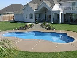 free form pools modern freeform viking pool