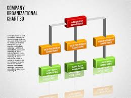 3d org chart for powerpoint presentations download now 01355
