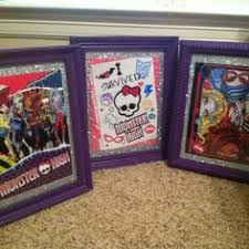 Monster High Bedroom Accessories by Monster High Room Border Using Calendars I Think Ky Would Like