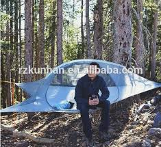high suspended designed outdoor camping triangle hanging hammock