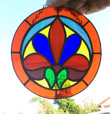 Home Decor Wall Hangings Stained Glass Stained Glass Art Glass Suncatcher Window Decor