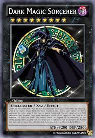 fan made dark magician support card imgur