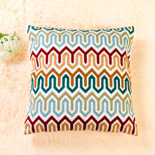 Knit Cushion Cover Pattern Compare Prices On Embroidery Cushion Cover Online Shopping