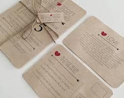 wedding invitation bundles wedding invitation kits etsy