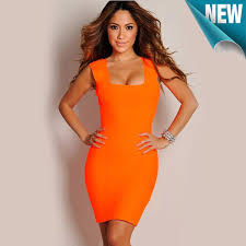 orange dress orange dress for women and fashion show collection fashion gossip