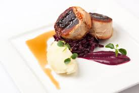 Delicious Main Course With Braised Pork Cheeks Pickled Pork Recipes Bbq Pork Pork Cheek Pork Pie Great British Chefs
