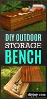 Outdoor Storage Bench Building Plans by This Diy Outdoor Storage Bench Started From An Ana White Building