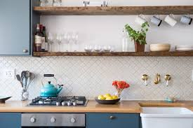 how to organize open kitchen cabinets 11 tips to make open shelving work in real kitchn