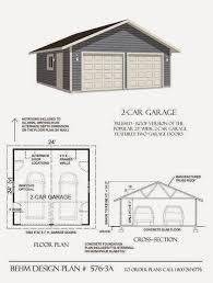 garage plans blog behm design garage plan examples plan 576