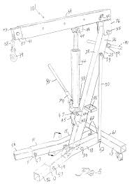 Otc Floor Crane by Patent Us6276665 Mobile Floor Crane Google Patents
