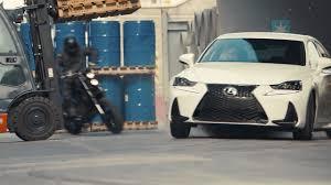lexus is commercial motorcycle lexus is tvcm u201cchase u201d 60sec youtube
