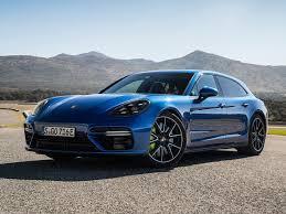 porsche panamera blue porsche panamera turbo s e hybrid sport turismo 2018 pictures