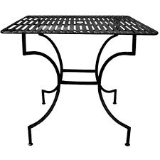 Patio Table With Umbrella Iron Patio Table With Umbrella Hole Free Shipping Today