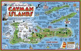 Georgetown Map Cayman Islands Tourist Map